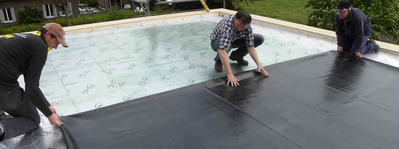 Wat is EPDM rubber dakbedekking?